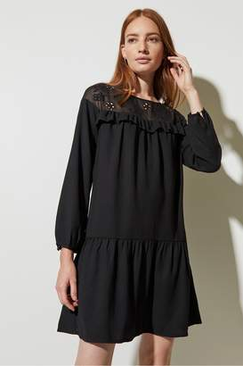 Great Plains Winter Broderie Dress