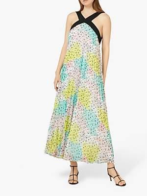 Dakota Finery Pleated Dress, Multi