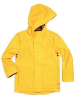 Hunter Little Boy's& Boy's Waterproof Raincoat