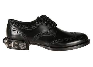 Dolce & Gabbana Studded Oxford Shoes