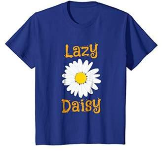 Lazy Daisy Flower T-Shirt