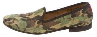 Del Toro Camouflage Print Loafers