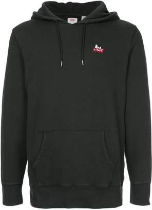 Levi's contrast logo hoodie