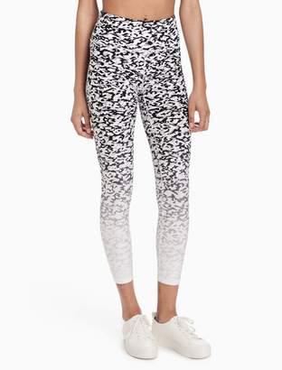 Calvin Klein ombre high waist cropped leggings