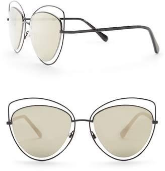 Diane von Furstenberg 57mm Cat Eye Sunglasses