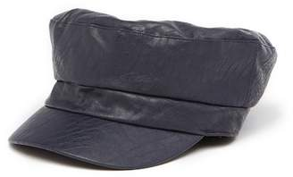 August Hat Textured Vegan Leather Conduct Hat