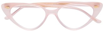 Cutler & Gross cat-eye glasses