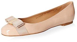 Salvatore Ferragamo Women's Varina Flat $525 thestylecure.com
