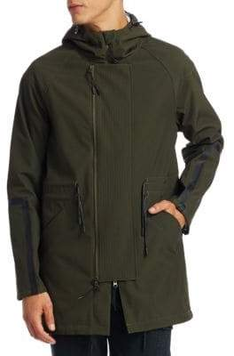 Madison Supply Saks Fifth Avenue X Anthony Davis Solid Anorak Jacket