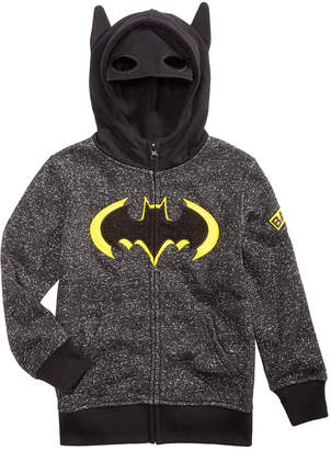 Dc Comics Little Boys Batman Mask Hoodie