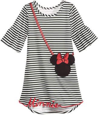 Disney Toddler Girls Striped Minnie Mouse Purse Dress