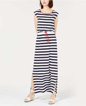 Tommy Hilfiger Striped Sleeveless Dress