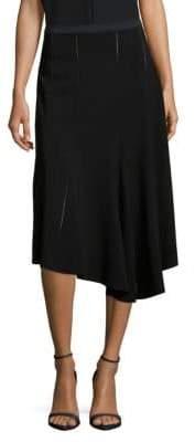 Derek Lam Solid Asymmetric Hem Skirt
