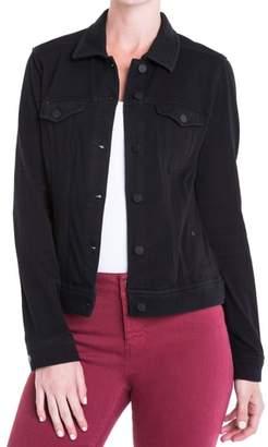 Liverpool Jeans Co. Knit Denim Jacket