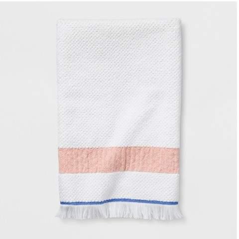Cream Stripe Towels