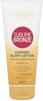 L'Oreal Sublime Bronze Gradual Self-Tan Body Lotion Medium 200ml
