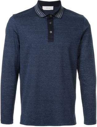 Cerruti long-sleeve polo shirt
