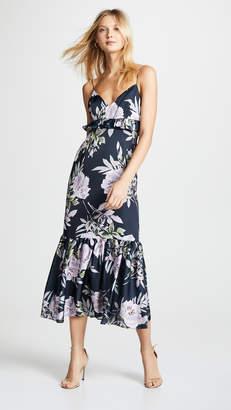 Jill Stuart Ruffle Floral Gown