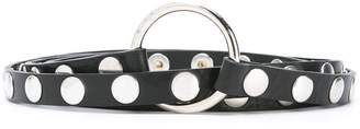 McQ Studded Multi Wrap Belt