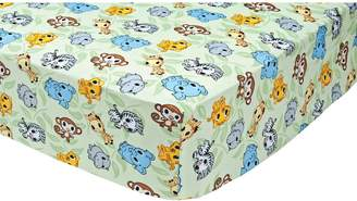 Trend Lab Waverly Baby By Waverly Baby by Chibi Zoo Animals Crib Sheet