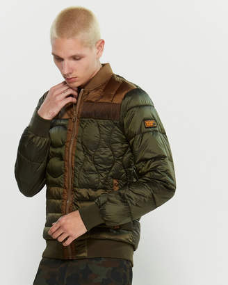 Superdry Convex Quilted Bomber Jacket