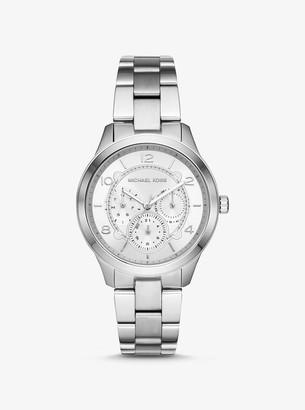 Michael Kors Runway Silver-Tone Watch