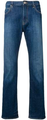 Emporio Armani low-rise bootcut jeans