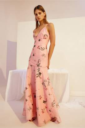 Keepsake BOTANIC GOWN dusty pink floral