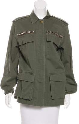 Ramy Brook Embellished Cargo Jacket