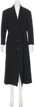 Issey Miyake Longline Wool Blazer