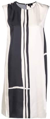 Theory minimal sheath stripe dress