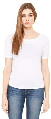 Clementine Apparel Women's Flowy Open Back T-Shirt