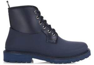 Saks Fifth Avenue COLLECTION Rubber Combat Boots