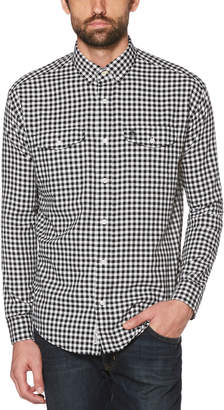 Original Penguin CLASSIC FIT TEXTURED GINGHAM SHIRT