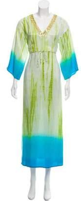 Josie Natori Silk Maxi Dress
