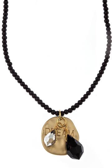 Blu Bijoux Black Wish Necklace