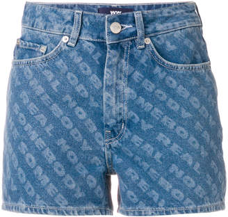 Wood Wood Oda denim shorts