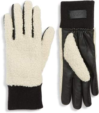 UGG Faux Shearling Touchscreen Compatible Gloves