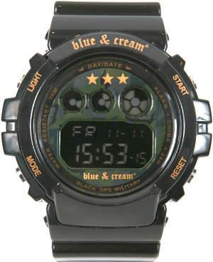 Blue & Cream Blue&Cream Shock Black Ops Military