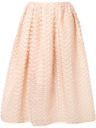 Cecilie Bahnsen - Siv Fil Coupé Organza Midi Skirt - Pastel pink