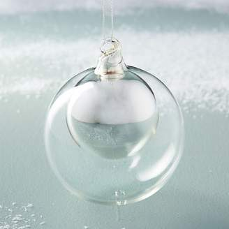 west elm Double Glass Sphere Ornaments