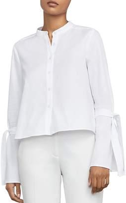 Bcbgmaxazria Marrisa Tie-Sleeve Shirt