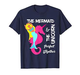 Mermaid Shirt Unicorn Seahorse Super Cute Girly Tees