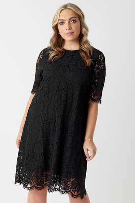 Next Womens Glamorous Curve Lace A line Dress