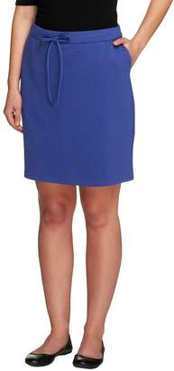Liz Claiborne New York Pull-On Ponte Knit Skort