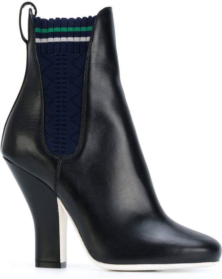 Fendi heeled ankle boots