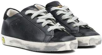 Golden Goose Kids Skateboard lace-up sneakers