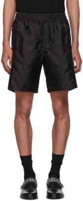 Givenchy Black Logo Shorts