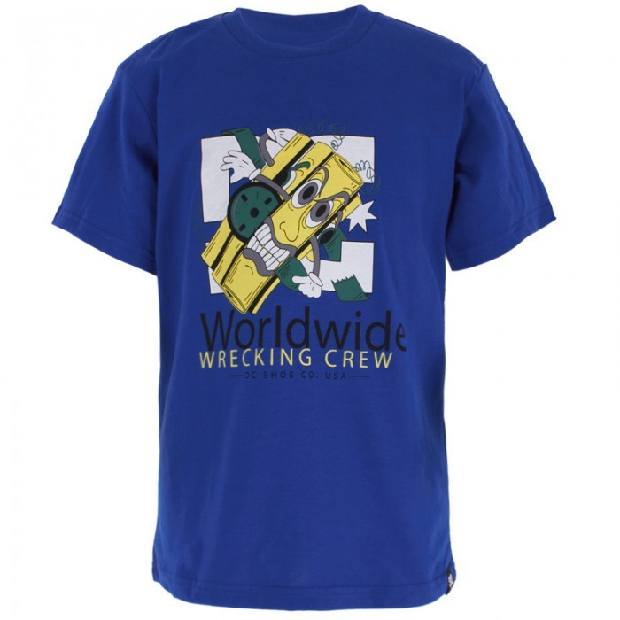 DC Wrecked Blue Tee