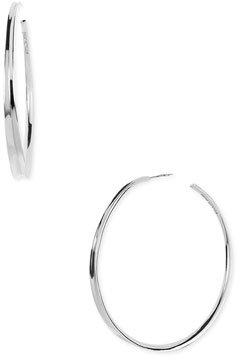 Ippolita 'Fettuccine' Sterling Silver Hoop Earrings